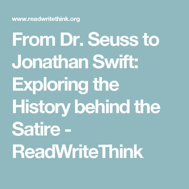 From Dr Seuss To Jonathan Swift Exploring The History Behind The
