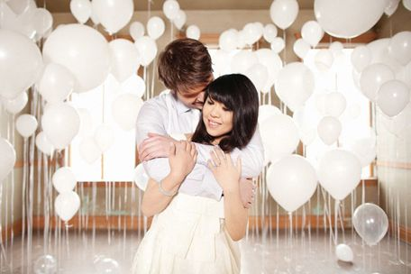 White Balloon Weddings are so gorgeous!