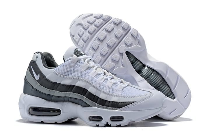 8544424b7b81 Nike Air Max 95 2018 Mens shoes white Gray