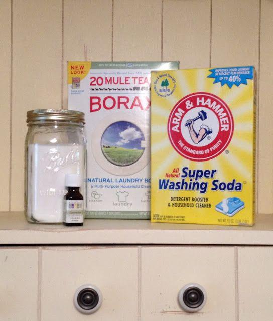 All Natural Homemade Dishwasher Detergent