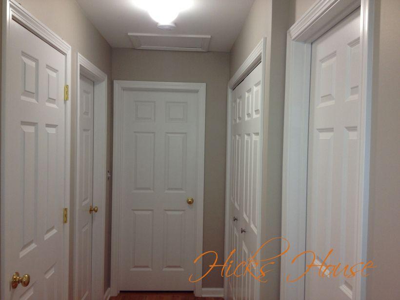 Revered Halls Hicks House Hallway Designs Revere Pewter Townhome Decorating