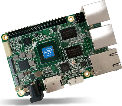 AAEON UP single board computer based on Intel Atom CPU that