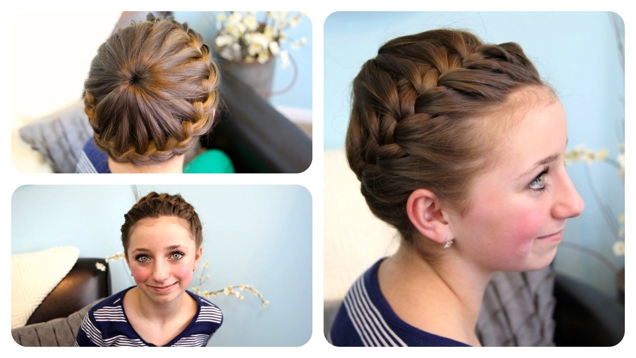 Groovy Crown Braids Hairstyles And Cute Girls Hairstyles On Pinterest Hairstyle Inspiration Daily Dogsangcom