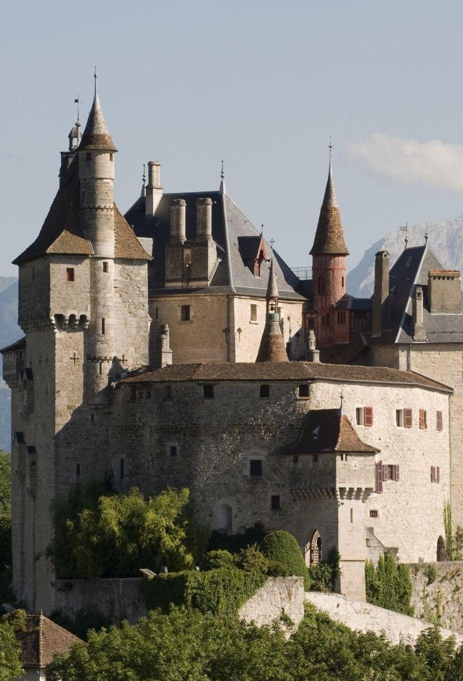 Château D Annecy With Images Medieval Castle