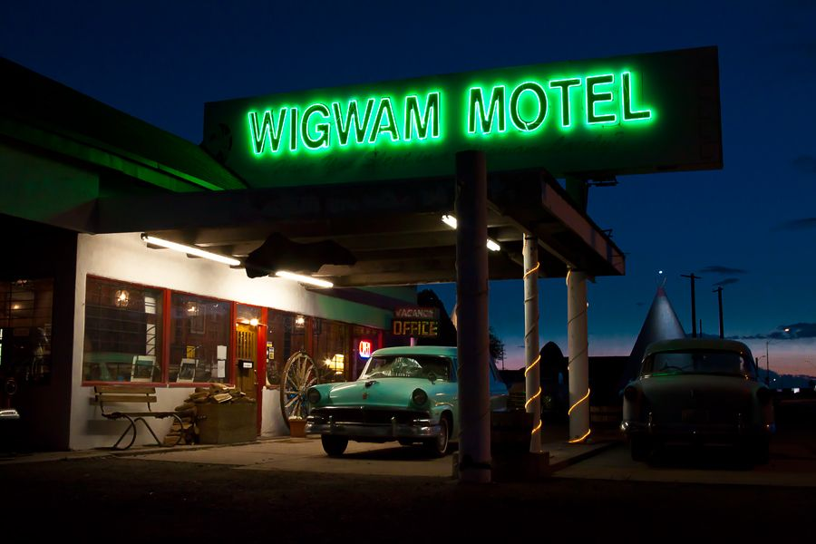 Wigwam Motel. Holbrook, Arizona.