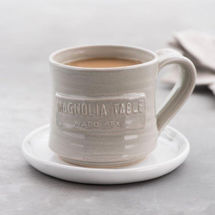 Love this magnolia table black oak mug handmade by local