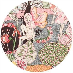 Alexander Henry, Everyday Eden, Fairyland Pink (24 Inch Panel)