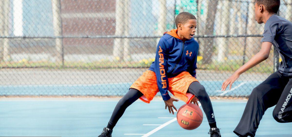 under armour kids basketball