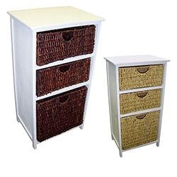 Shop for White Frame Compact Wicker Basket Storage Shelf. Get free delivery at Overstock.com - Your Online Furniture Outlet Store! Get 5% in rewards with Club O!