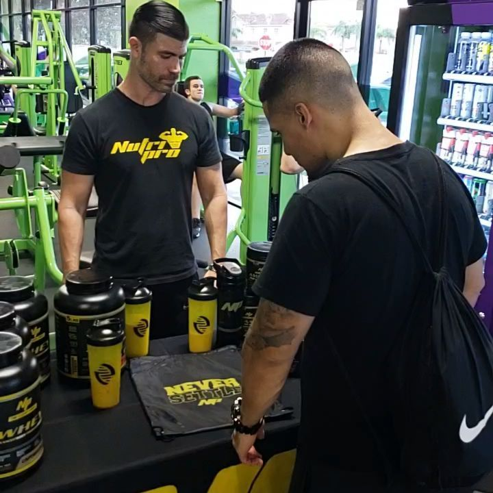 Come by Youfit for free samples of NP at their back to school member appreciation day. @alexis_n...