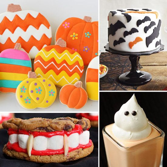 17 Scarily Cute Halloween Sweets from Lilsugar Halloween Costumes - cute halloween treat ideas