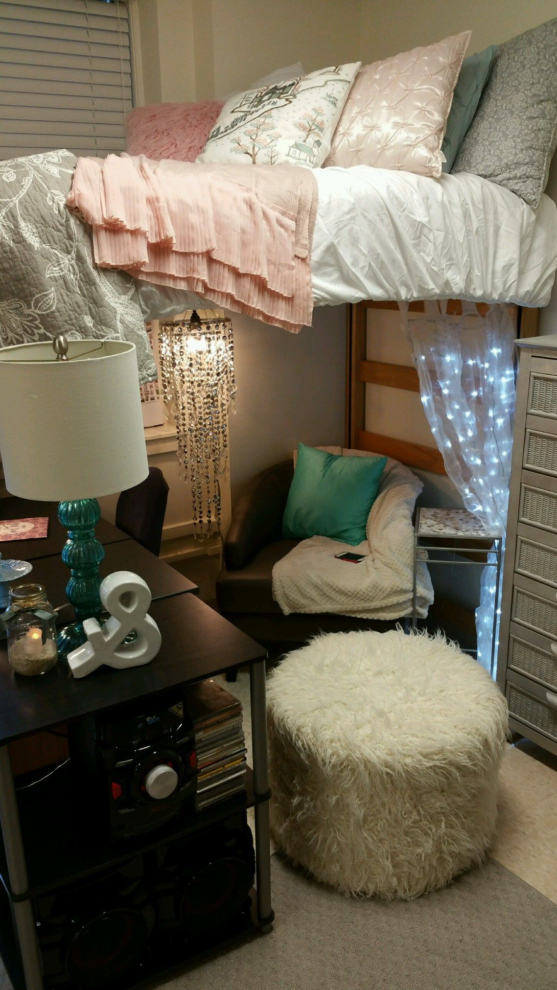 Ideas For Dorm Room: College Bedroom Decor, Girls