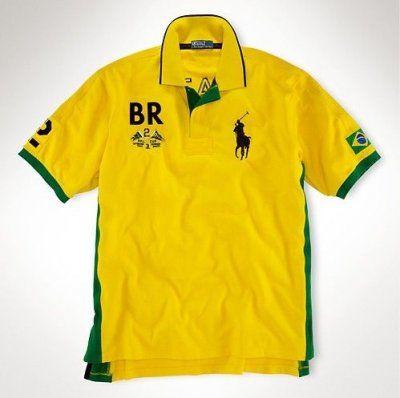 RALPH LAUREN Polo Boys Brazil Tee