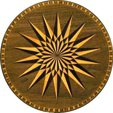 Free Wood Inlay Patterns Traditionalmarquetry Inlays Mandala