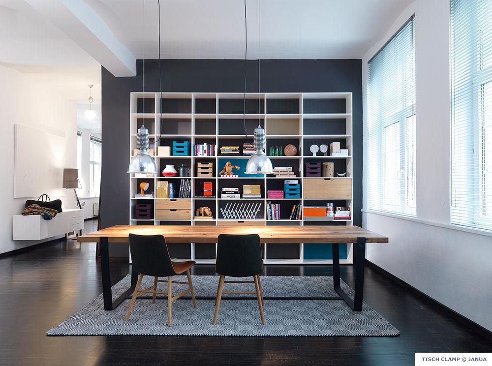 gaertner internationale moebel janua massivholz tisch clamp design pinterest m bel. Black Bedroom Furniture Sets. Home Design Ideas