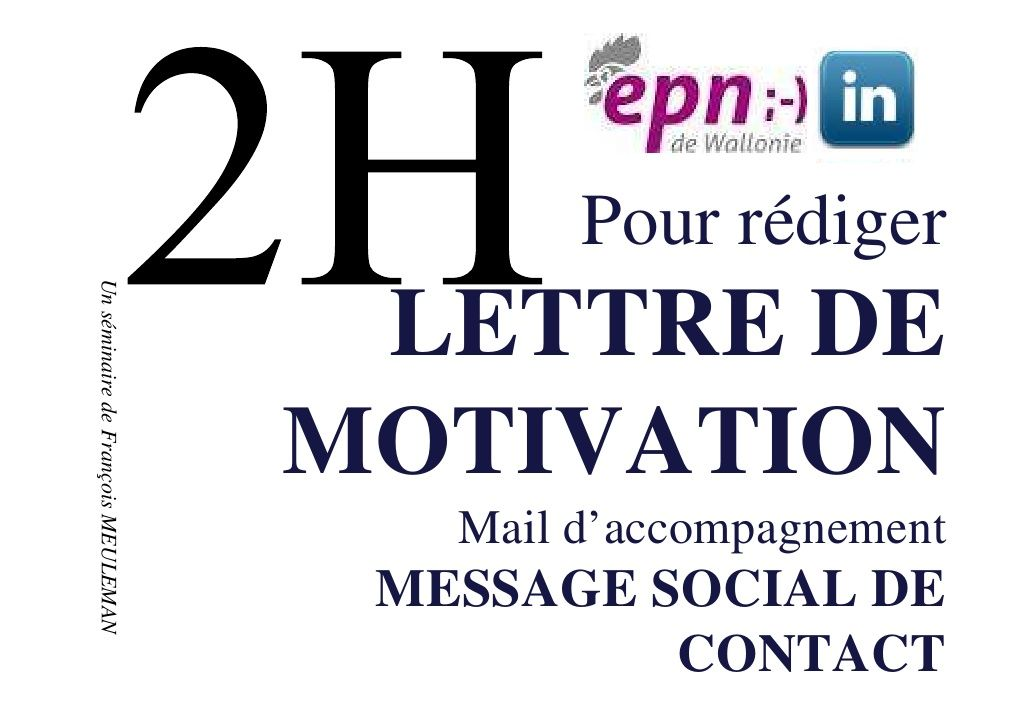 abc de la lettre de motivation