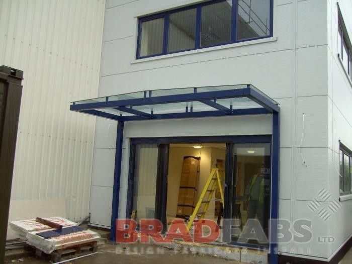 We are UK manufacturers of door canopies for doors porches patios and paths. We deliver our canopies direct and install to schools offices ... & Canopy entrance canopy school canopy canopy structure canopy ...