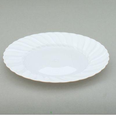 White Heavy Duty Semi Disposable Plastic Plates x 18 (Mashers Elegantware). | eBay & White Heavy Duty Semi Disposable Plastic Plates x 18 (Mashers ...