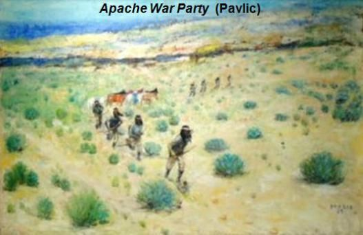 Apache War Party