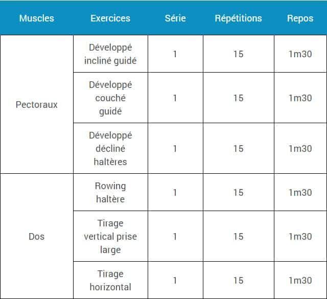 Si Vous Cherchez Un Programme Qui Vous Permettent De Prendre De La Masse Tout E Programme Musculation Programme Musculation Maison Programme Musculation Volume