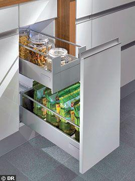 meuble cuisine tiroir cuisine