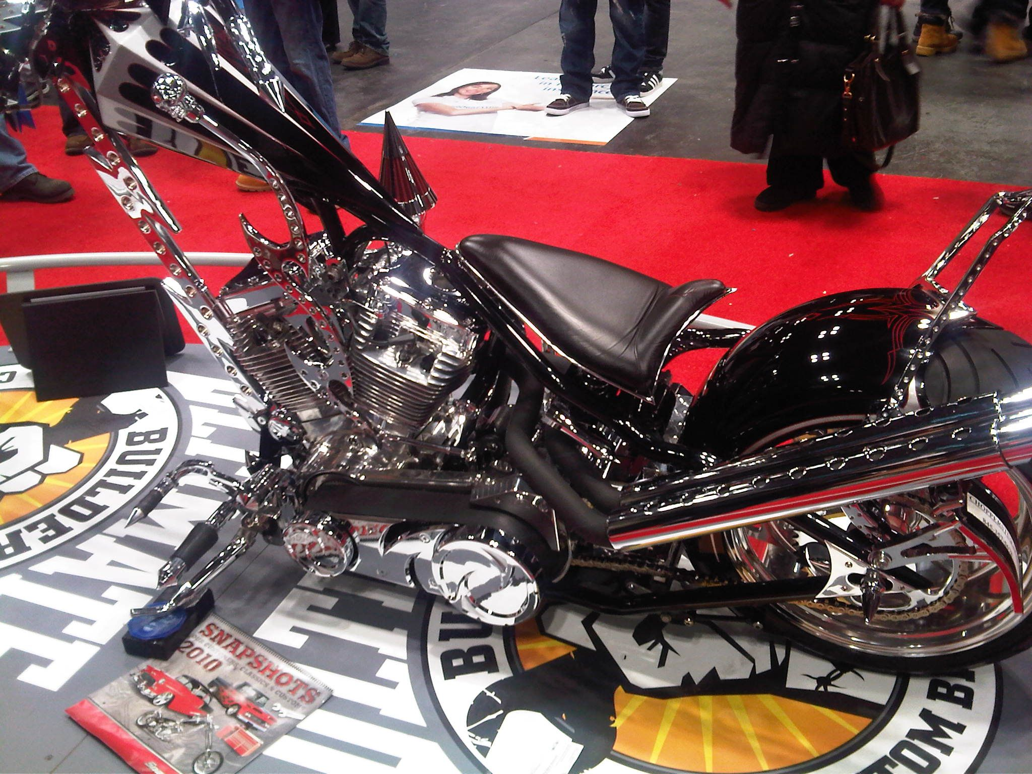 Favorite Custom Bike At The International Motorcycle Show In Nyc