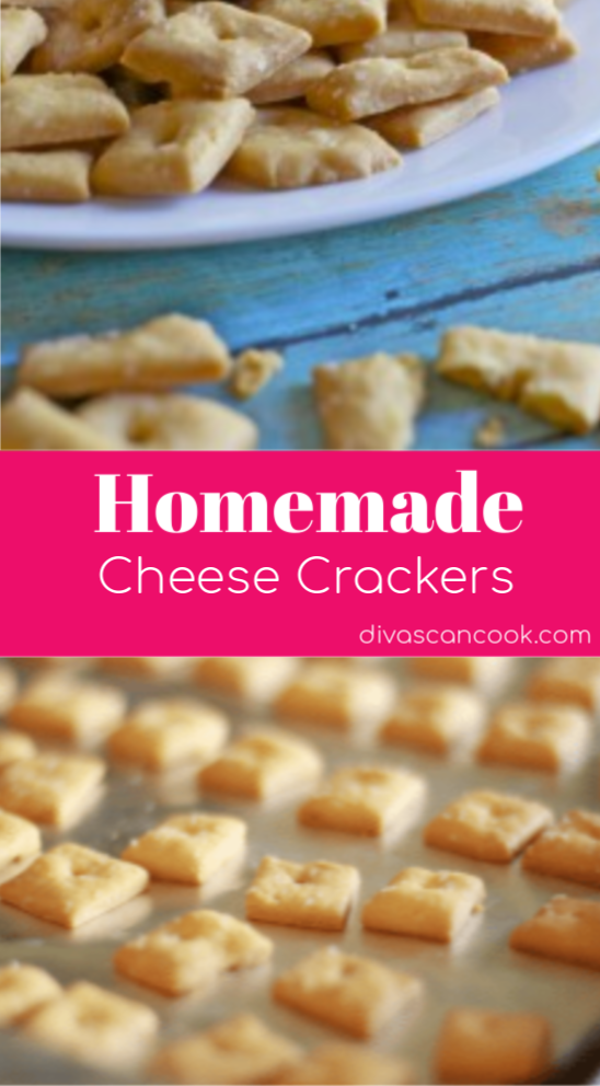 Homemade Cheese Crackers Recipe Homemade Cheese Snack Mix Recipes Food Recipes
