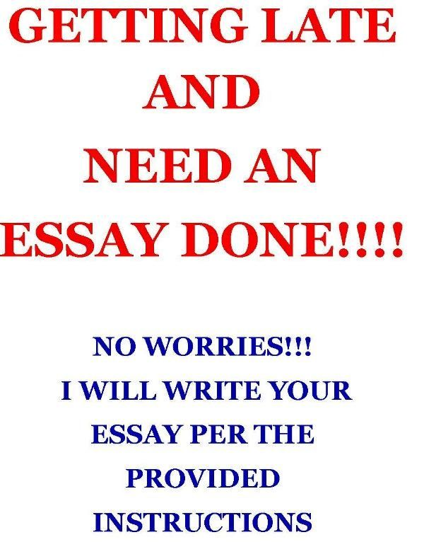 assist write an essay by kengatswriters