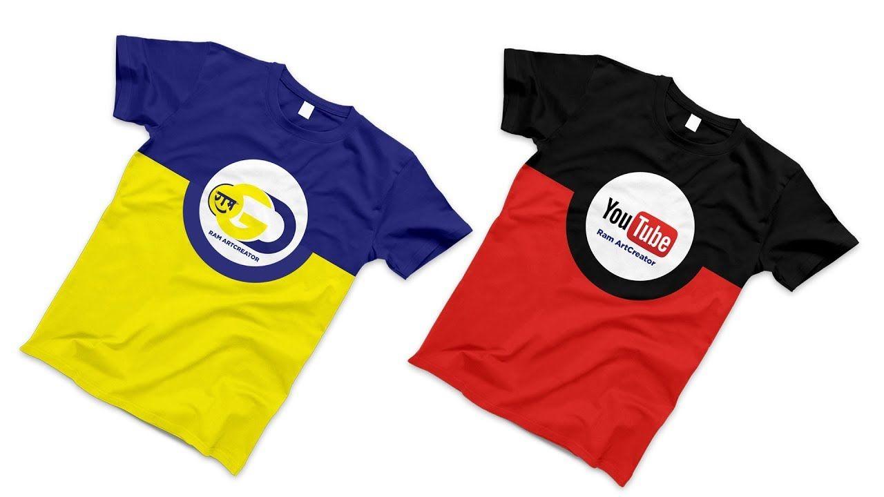 Download T Shirt Branding Mockup Mockup T Shirt Design In Adobe Photoshop Cc Mockup Mockupdesign Free Freecrochetpattern Shirt Mockup Mockup Design Tshirt Mockup
