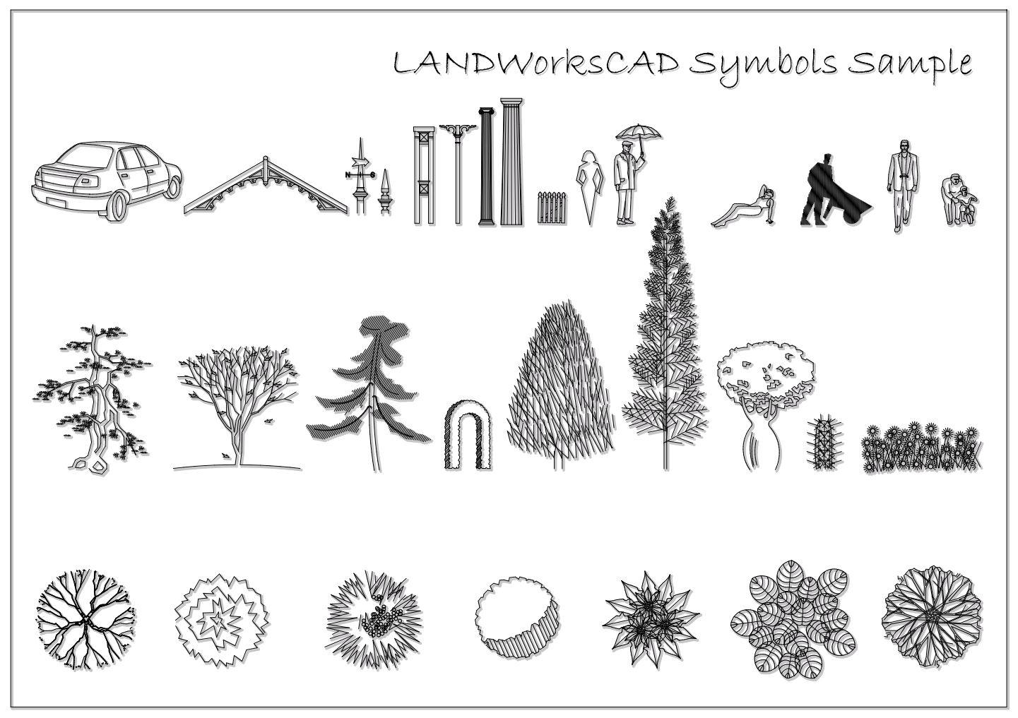 Landscape Graphics Vine Symbols