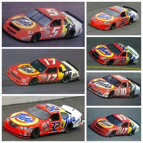 Tide Nascar Over The Years With Images Nascar Race Cars