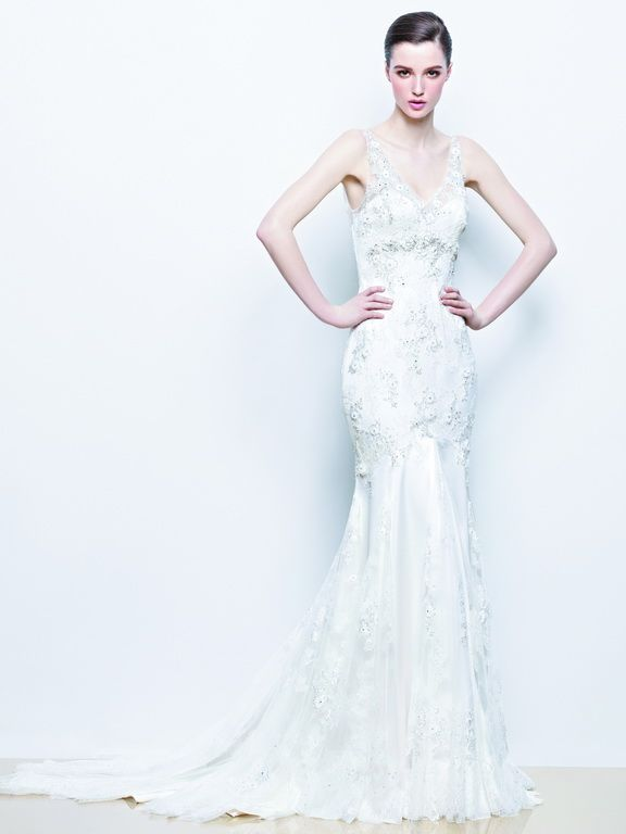 Enzoani wedding dress collection 2014 - Indigo lace wedding dress