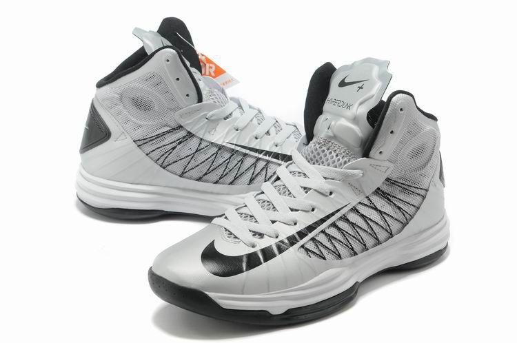 sale retailer af413 53176 ... nike x 2012 james shoes white black cheap hyperdunks