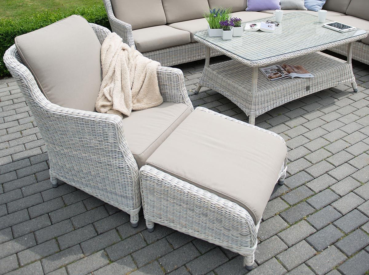 Gallery Of Seasons Outdoor Brighton Living Armchair In Praia With Rattan  Schrank Outdoor