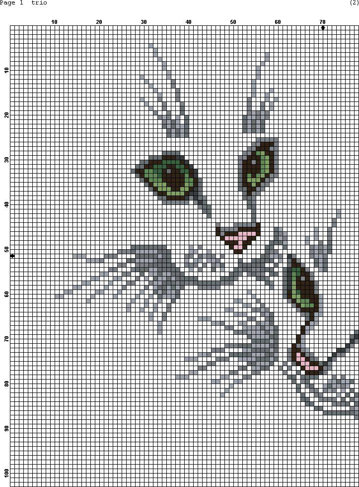 Вышивка крестом картинки животных