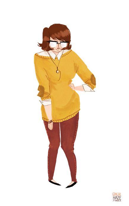 Hipster Velma | Illustrator: Noelle Stevenson