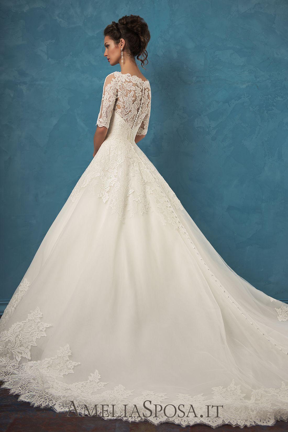 Amelia Sposa 2017 Wedding Dresses   Amelia sposa, Amelia and Chapel ...
