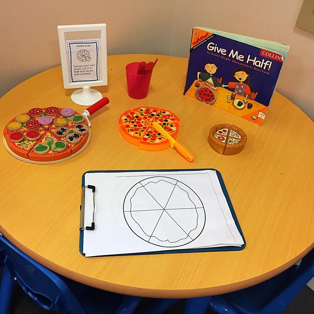 This Week S Maths Focus Is Halving Eyfs Reception