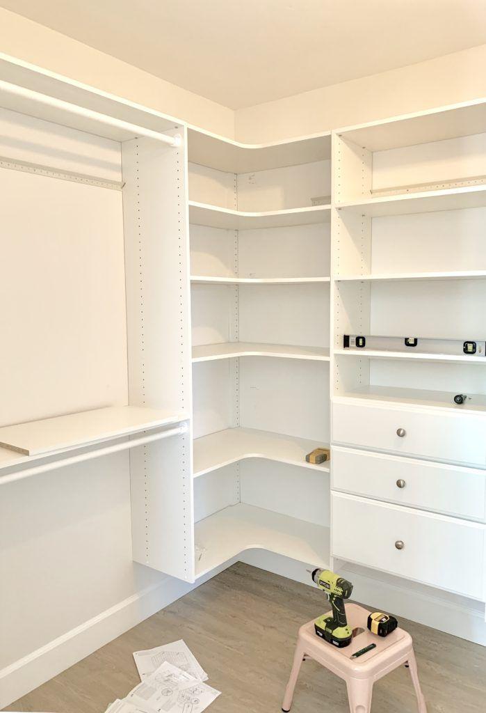DIY Custom Walk-In Closet: Affordable & Easy to Install ...