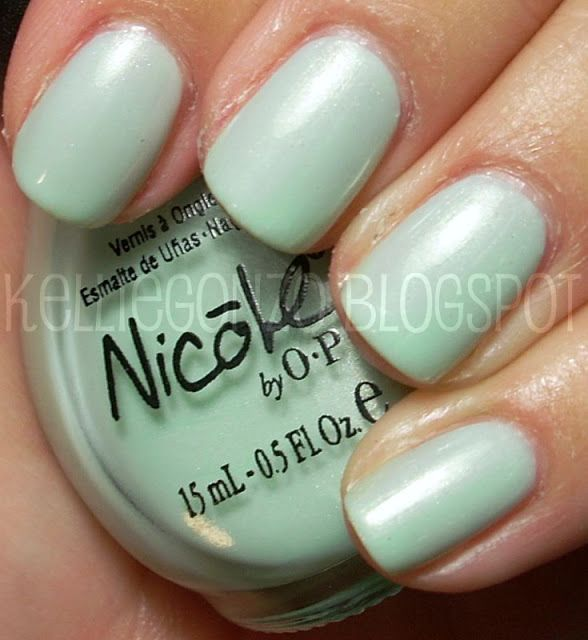 Nicole by OPI: Hint of Mint | Nails: Nicole by OPI | Pinterest