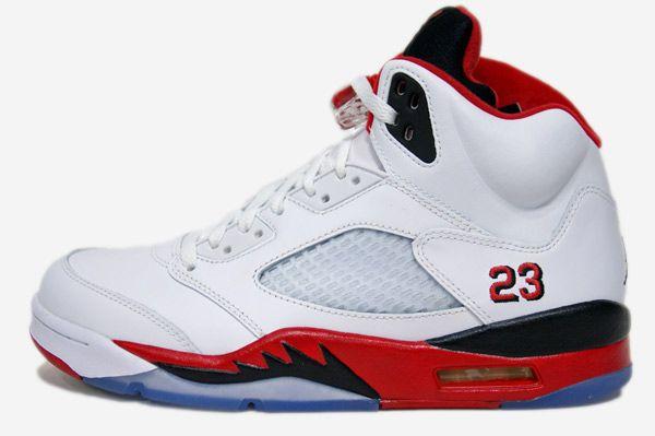 Nike Air Jordan V Fire Red   Jordan shoes retro, Jordan shoes for ...