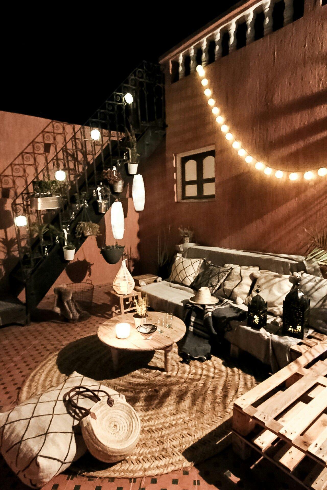 Marrakech Nights Unsere Boho Terrasse Dekoriert Mit Handgemachten Deko Artikeln Von Www Dari Design Com Marokkanische La Terrasse Dekorieren Deko Dekorieren