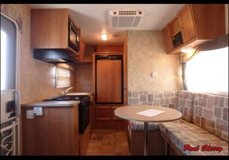 2007 Jayco Jay Feather Sport 186 Travel Trailer Inside Of My New