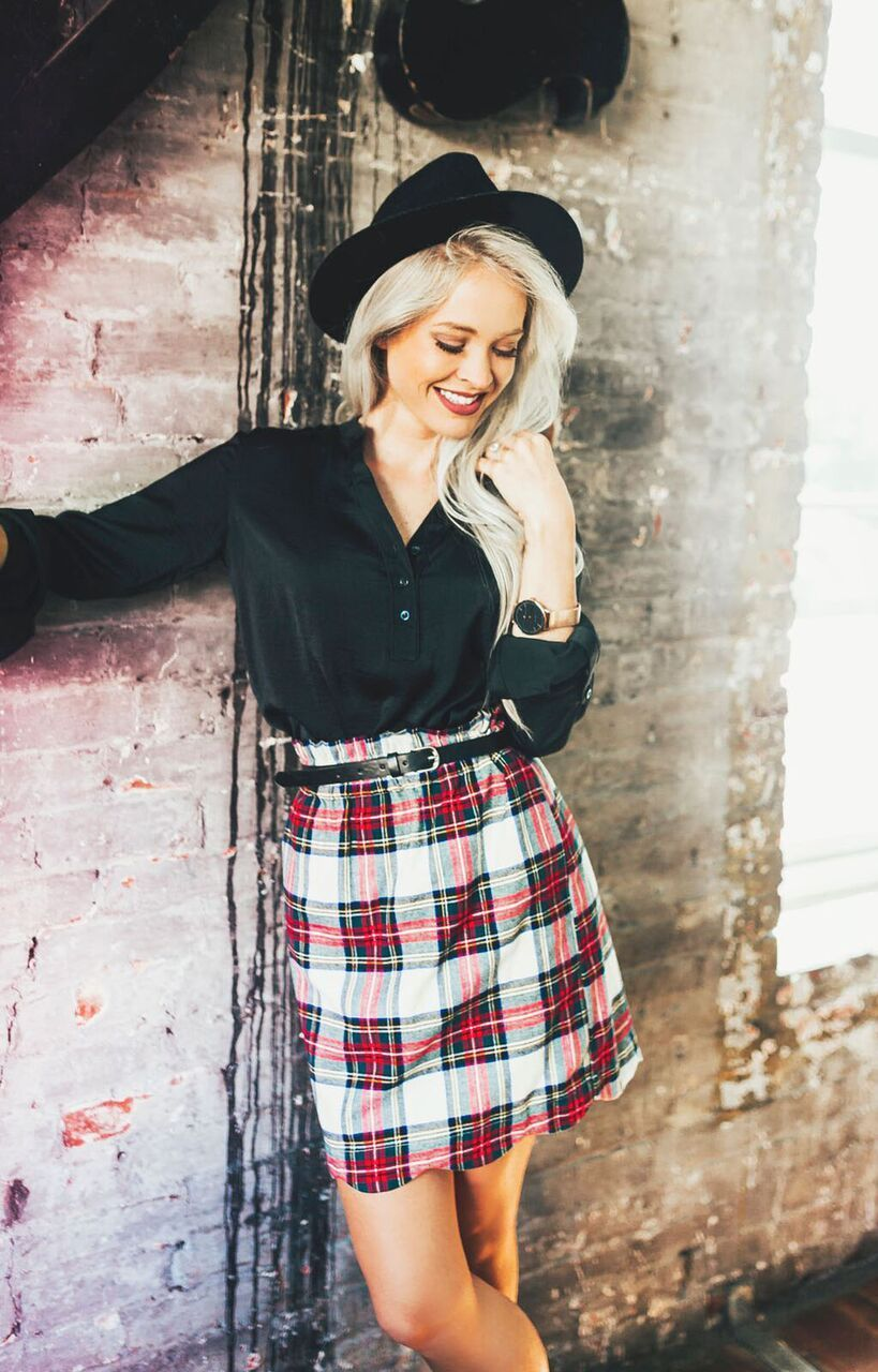 c2a5a331e3 You'll be begging for cooler weather when you get your hands on this skirt!  We put a spin on one of our best selling styles to create a new closet  staple!