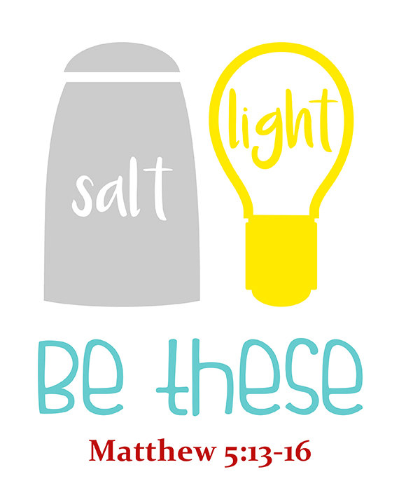Lessons From Matthew 5 Salt And Light Salt Light Bible