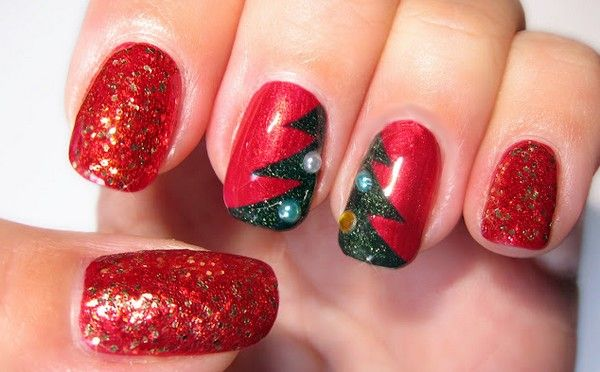 Christmas Nail Art Tumblr Nails Pinterest Nail Art Pictures