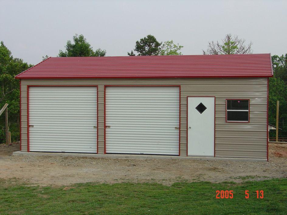 Metal Enclosed Buildings | Garages | Pinterest