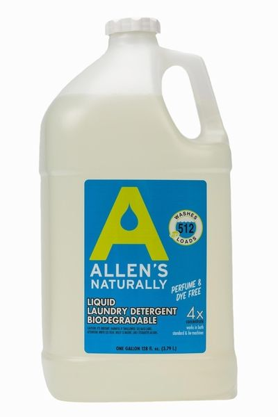 Allens Naturally Liquid Laundry Detergent 1 Gallon Over 500 Loads Ecos Almost 10 For With Images Laundry Detergent Liquid Laundry Detergent Laundry Detergent Soap