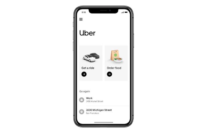 Uber développe et fusionne ses services dans une nouvelle