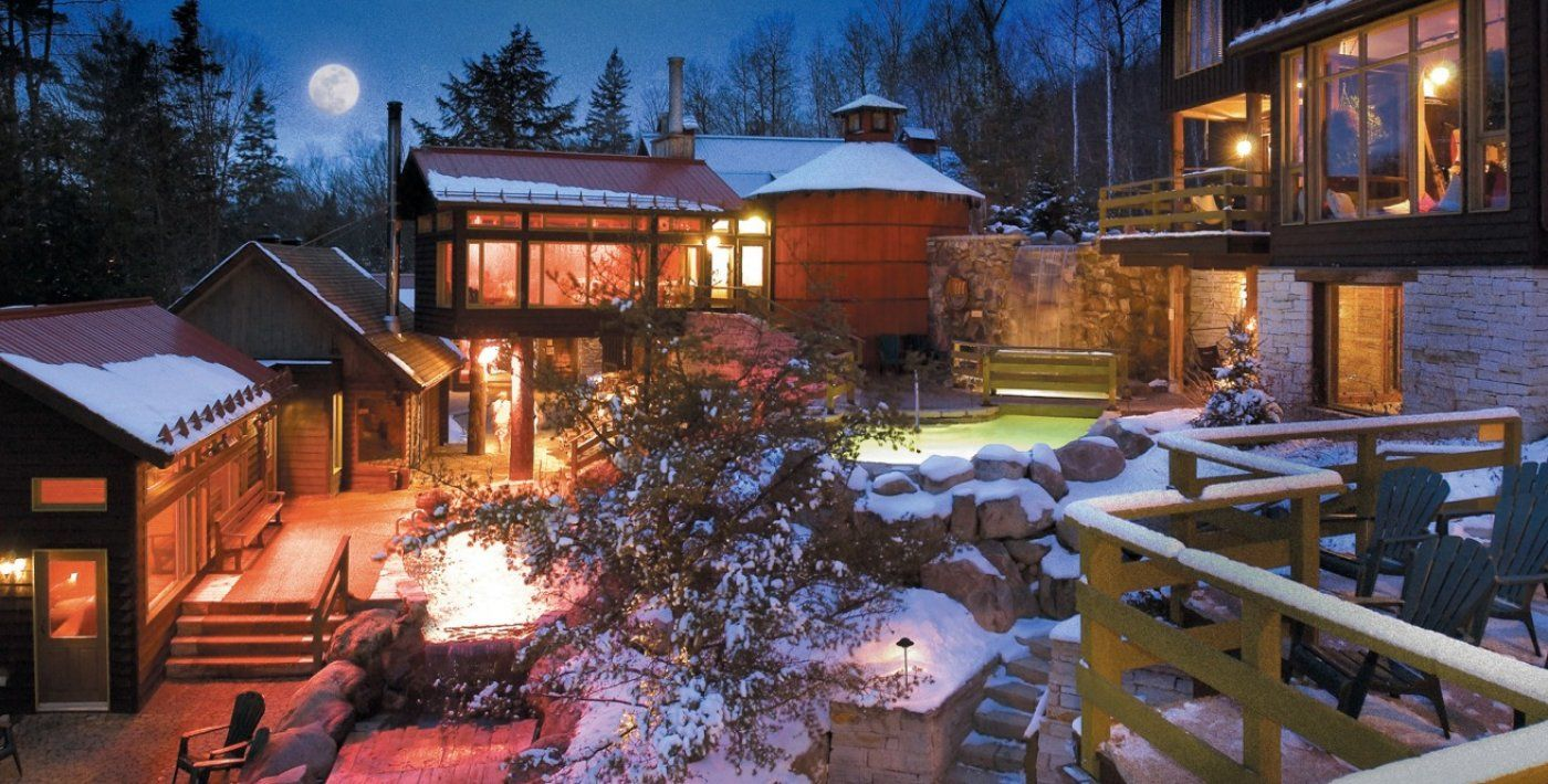 Scandinave Spa Mont Tremblant Your Day Resort Spa Mont Tremblant Resort Spa Spa
